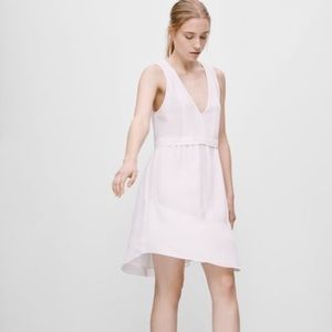 Aritzia Wilfred Silk Vignette Dress